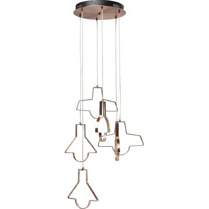 Suspension Foggia 6 LED Kare Design