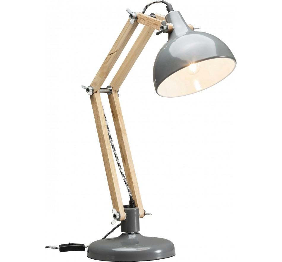 Lampe de table Work Station grise Kare Design
