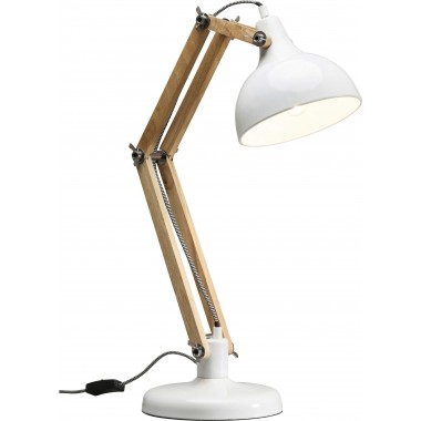 Lampe de table Work Station blanche Kare Design