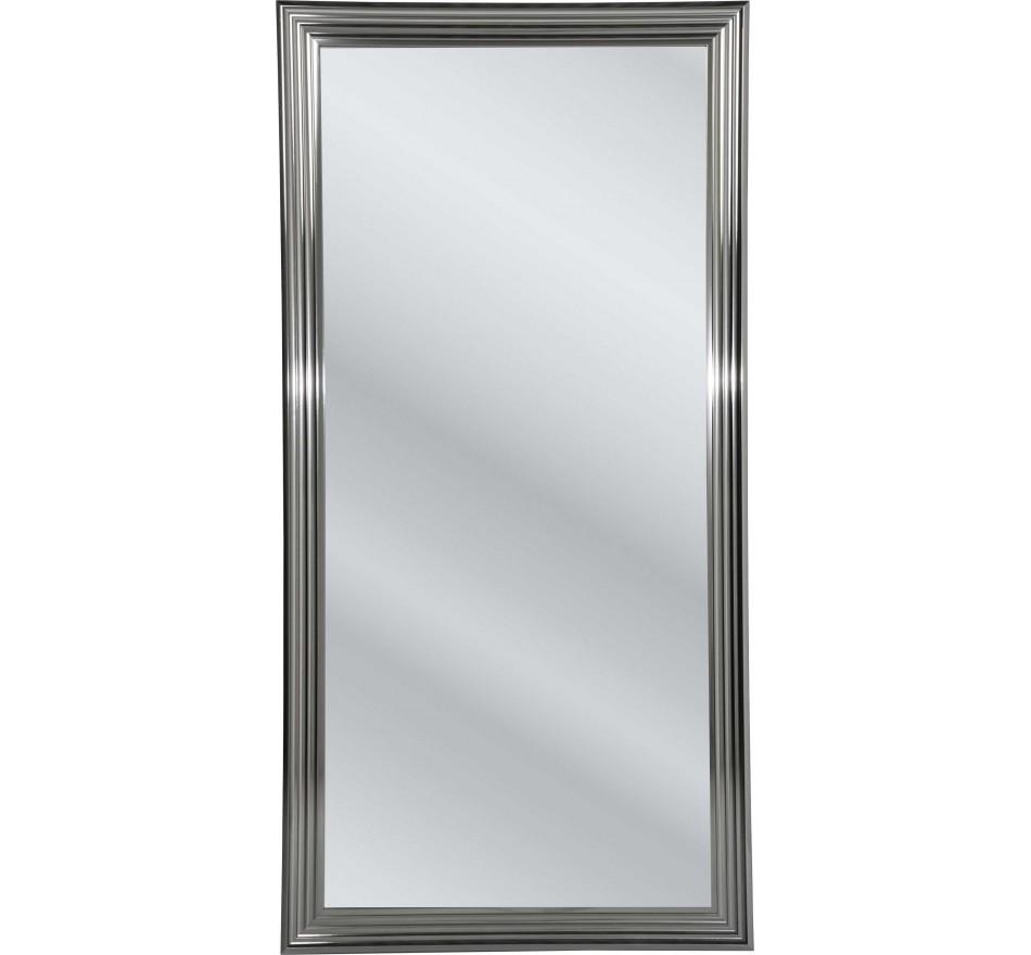 Miroir Frame argenté 180x90cm Kare Design