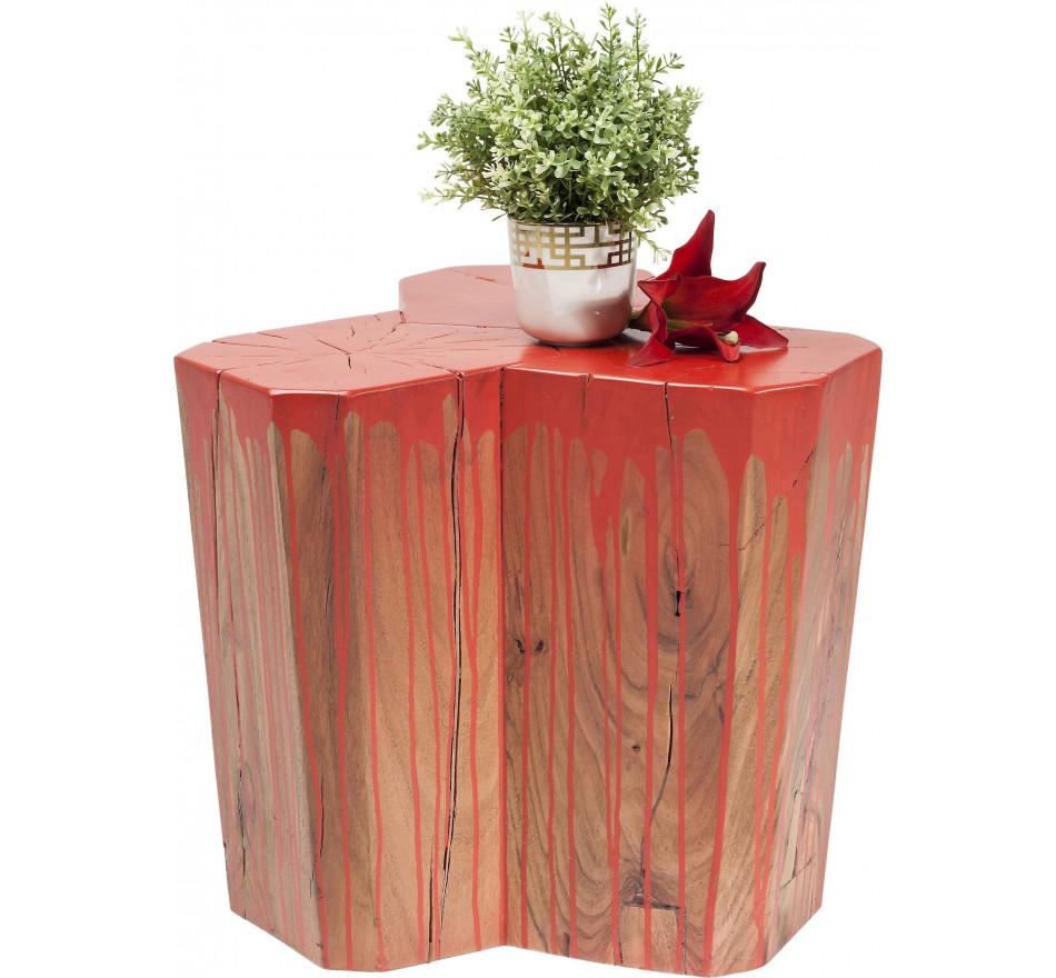 Tabouret Runny orange Kare Design