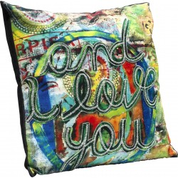 Coussin And I Love You 45x45cm Kare Design
