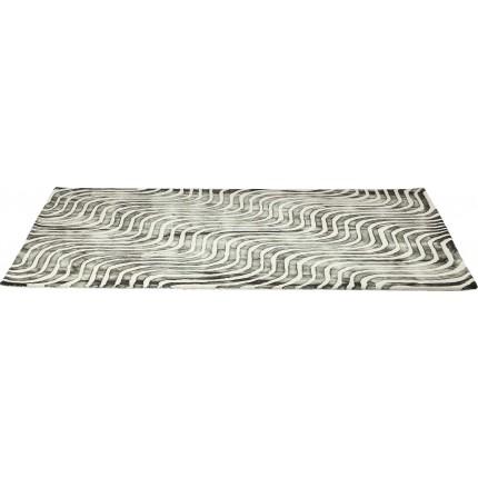 Tapis en laine La Ola gris 170x240cm Kare Design