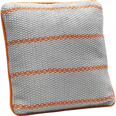 Coussin Scandi Chic orange 40x40 Kare Design