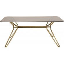 Table Garbo Gold rectangulaire 180x90 Kare Design