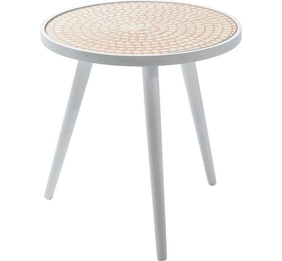 Table d'appoint Teatime orange 40 cm Kare Design