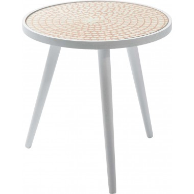 Table d'appoint Teatime orange 40 cm Kare Design