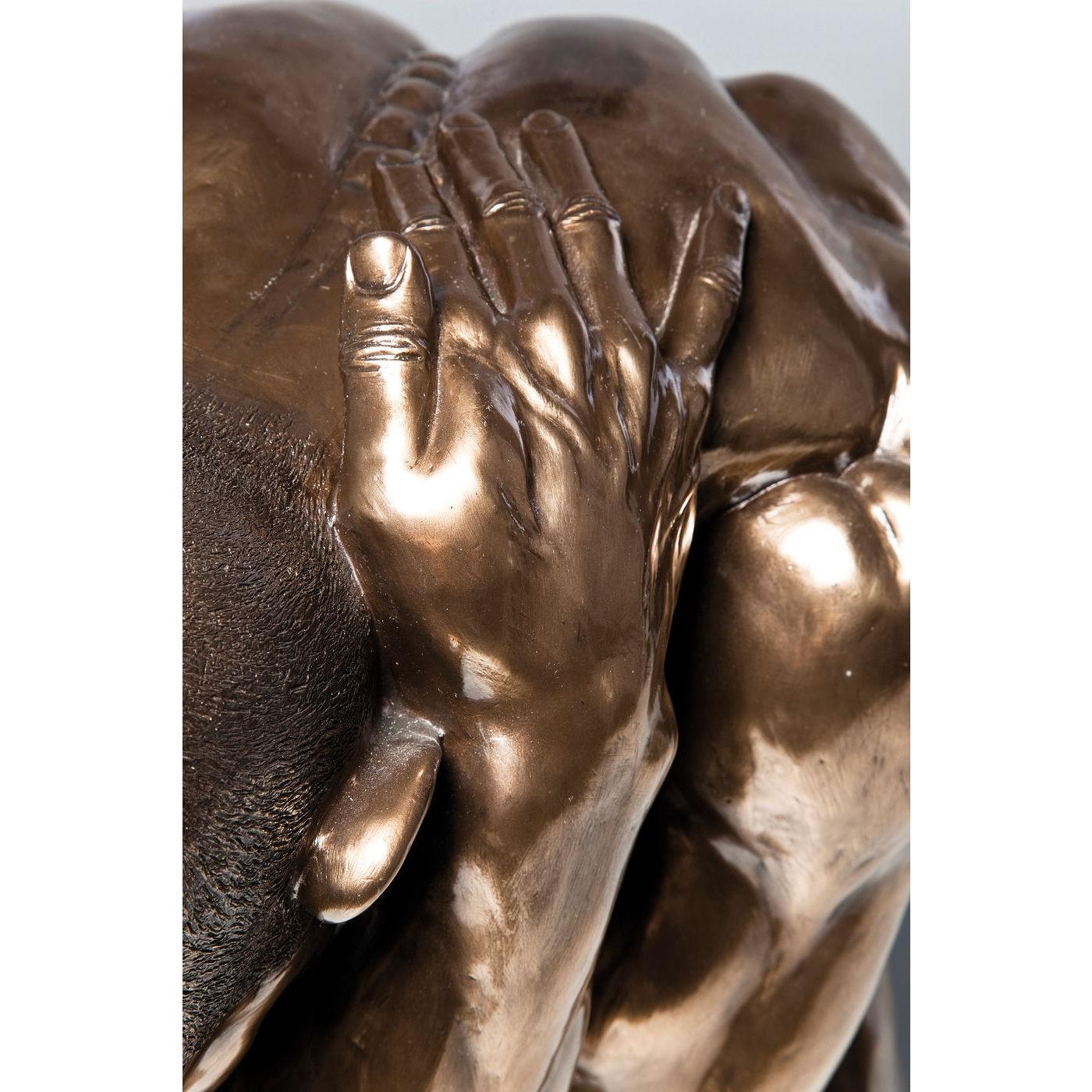 Deco Nude Man Hug bronze Kare Design