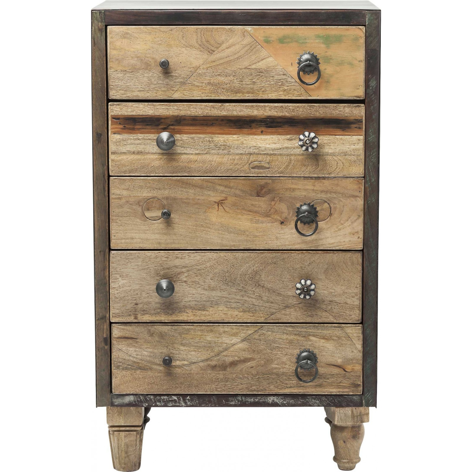 Commode en bois esprit saloon duld range kare design for Meuble 45 cm largeur