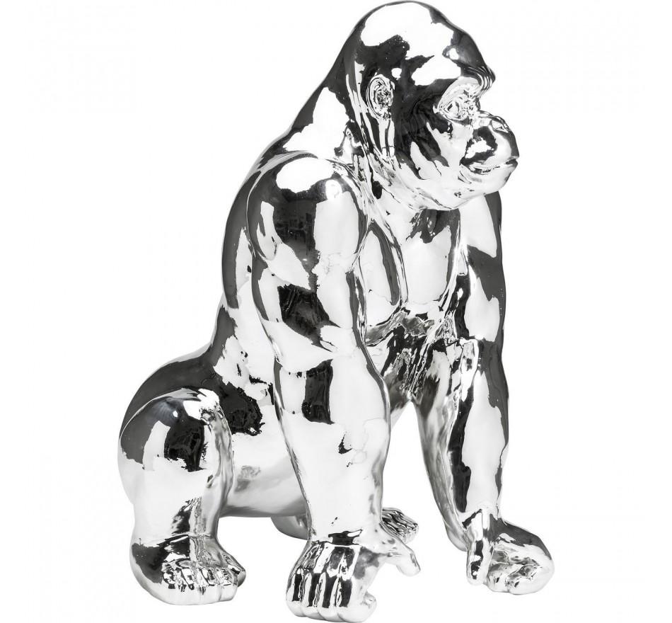 Tirelire Gorilla chrome Kare Design
