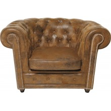 Fauteuil Chesterfield Oxford Vintage Rivet Kare Design