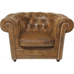 Fauteuil Oxford Vintage Rivet Kare Design