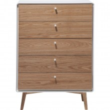 Commode haute Juju 5 tiroirs Kare Design
