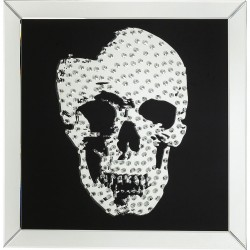 Tableau Skull Rockstar by Geiss 80x80cm Kare Design
