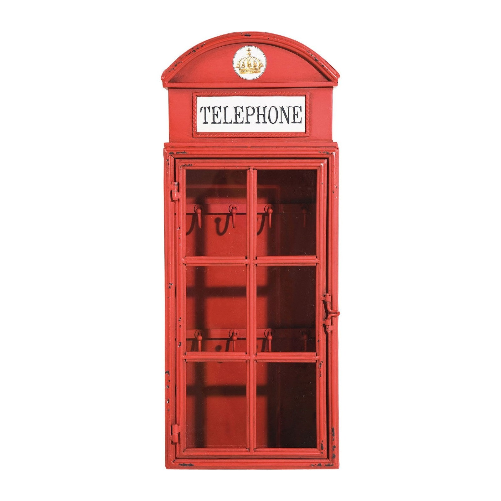 Armoire a clefs style cabine telephonique london kare design - Armoire a cles design ...
