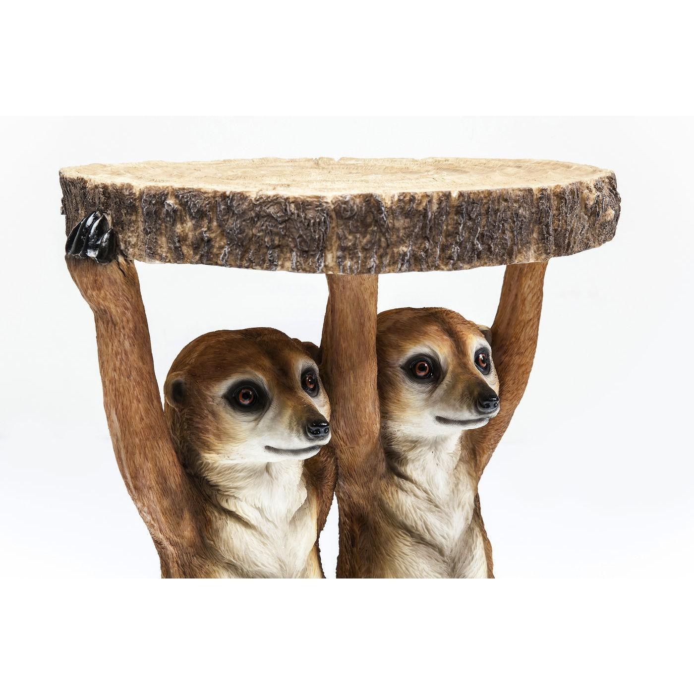 Table d'appoint Animal Suricates Kare Design