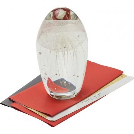 Presse-papiers Visible Jellyfish blanc Kare Design
