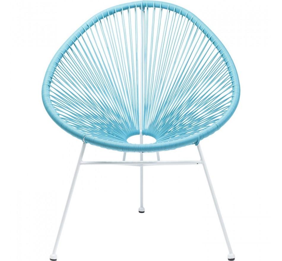 Chaise Spaghetti bleu clair Kare Design