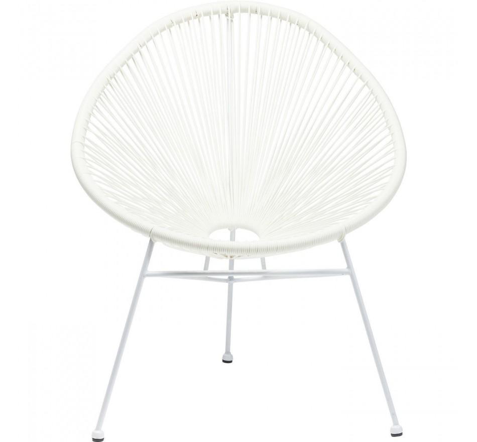 Chaise Spaghetti blanche Kare Design