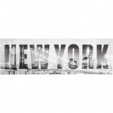 Tableau New York Bridge 45x140 cm Kare Design