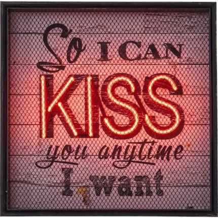 Applique Kiss NEON Grid Kare Design