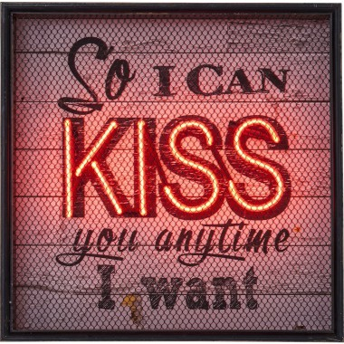 Applique Kiss NEON Grid Kare Design