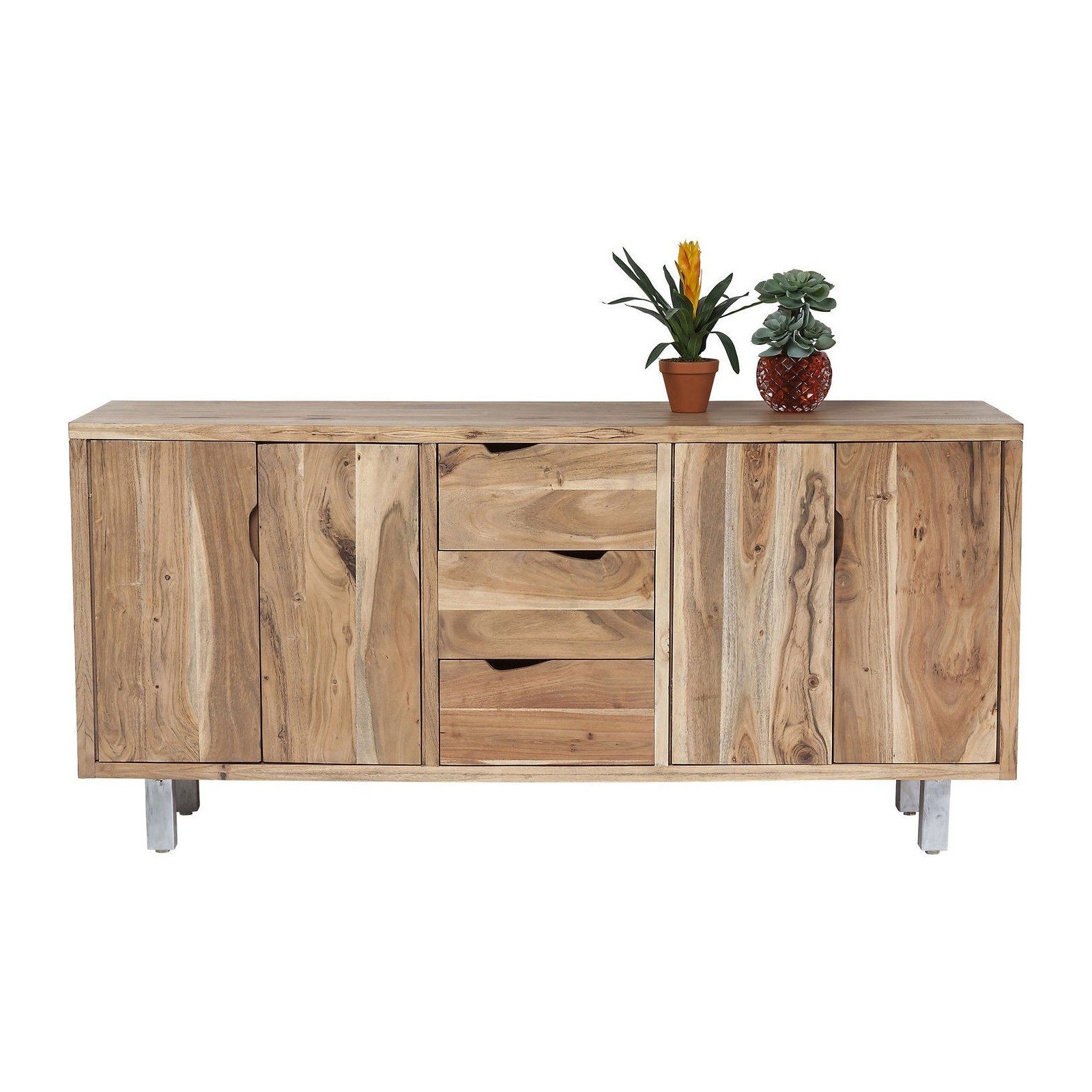 buffet scandinave en bois pure nature kare design. Black Bedroom Furniture Sets. Home Design Ideas