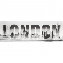 Tableau London GM Ben 45x140 cm Kare Design