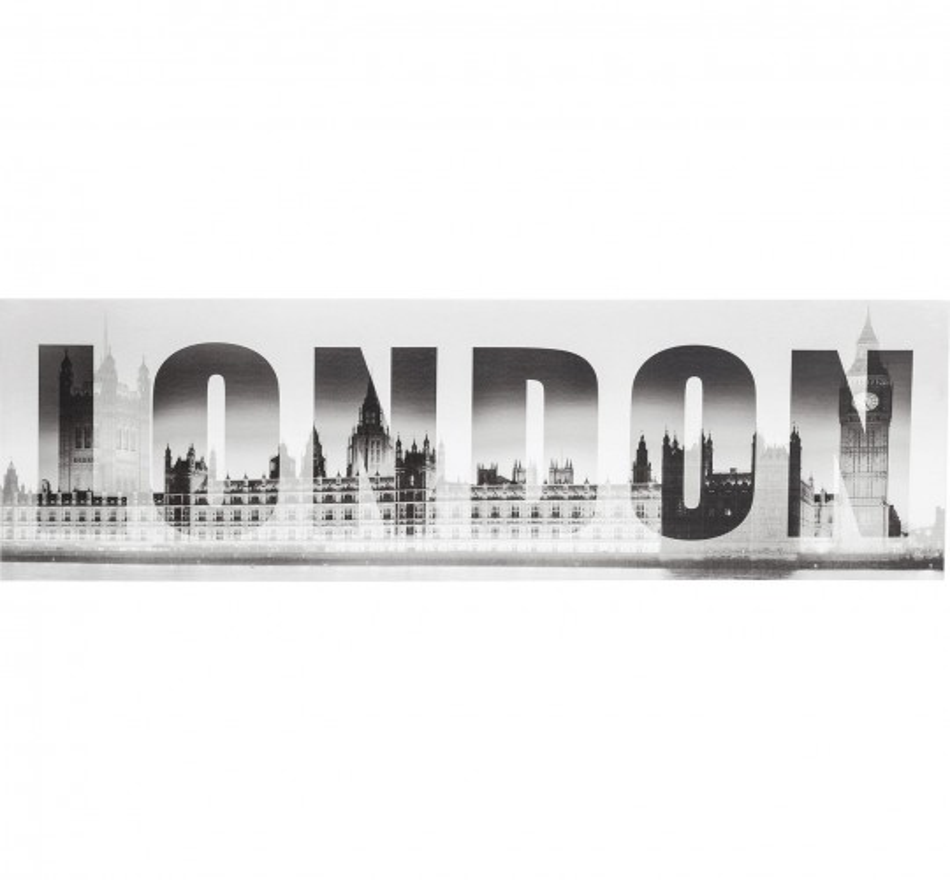 Tableau London GM Ben 45x140 cm Kare Design