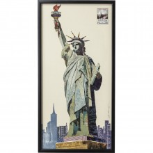 Tableau Liberty 121x61 cm Kare Design