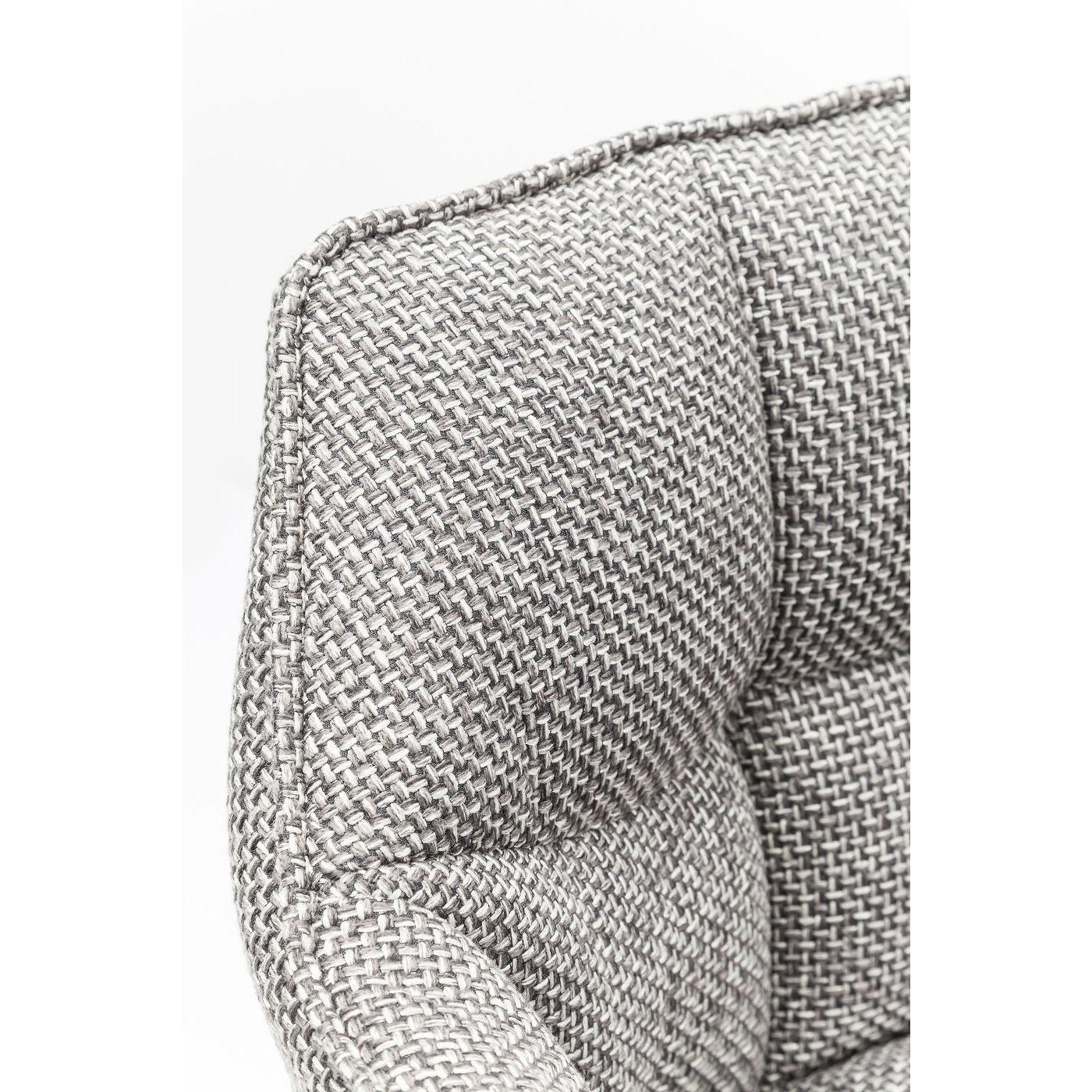 Tabouret de bar Thinktank Quattro gris Kare Design
