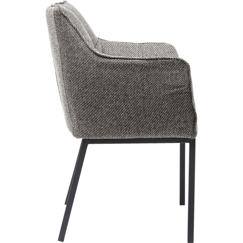 Chaise moderne grise thinktank kare design for Chaise kare design