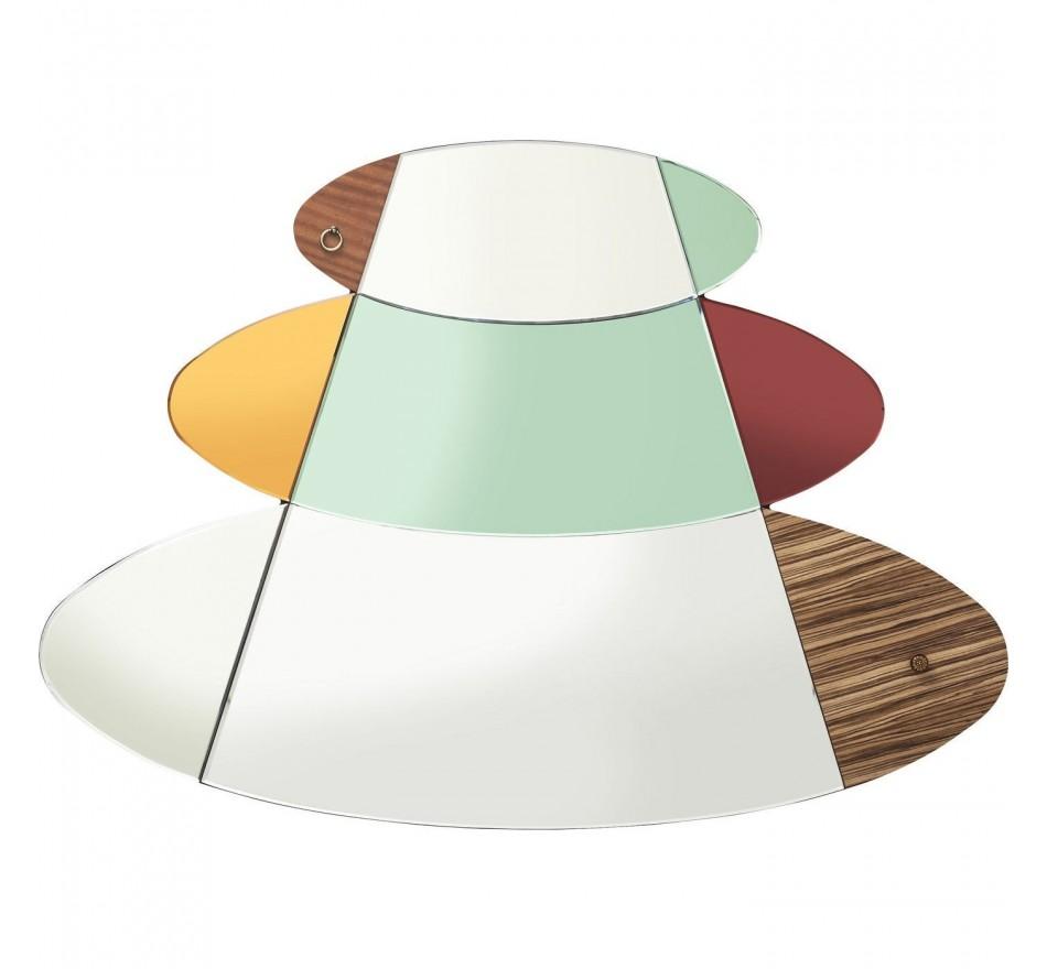 Miroir Metamorphosis Circles 107x150cm Kare Design