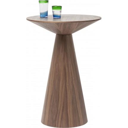 Table de bar Backstage noyer 70cm Kare Design