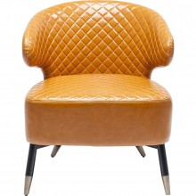 Fauteuil Session orange Kare Design