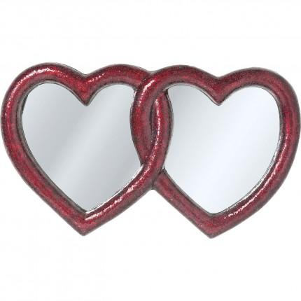 Miroir Mosaik Double Heart 100x165 cm Kare Design