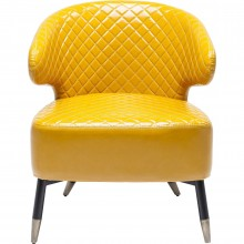 Fauteuil Session jaune Kare Design