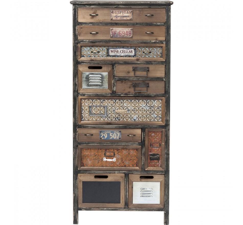 Commode California 12 tiroirs Kare Design