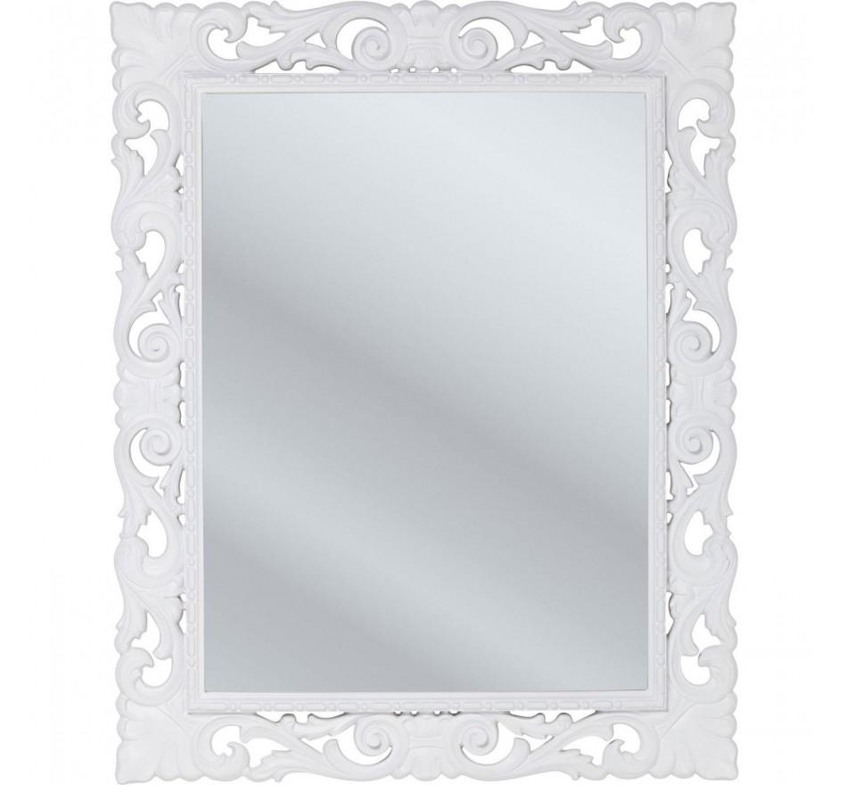 Miroir Secolo blanc 82x102cm Kare Design