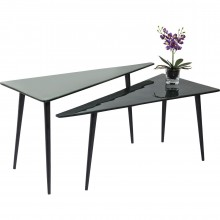 Tables basses La Costa Triangle 2/set Kare Design