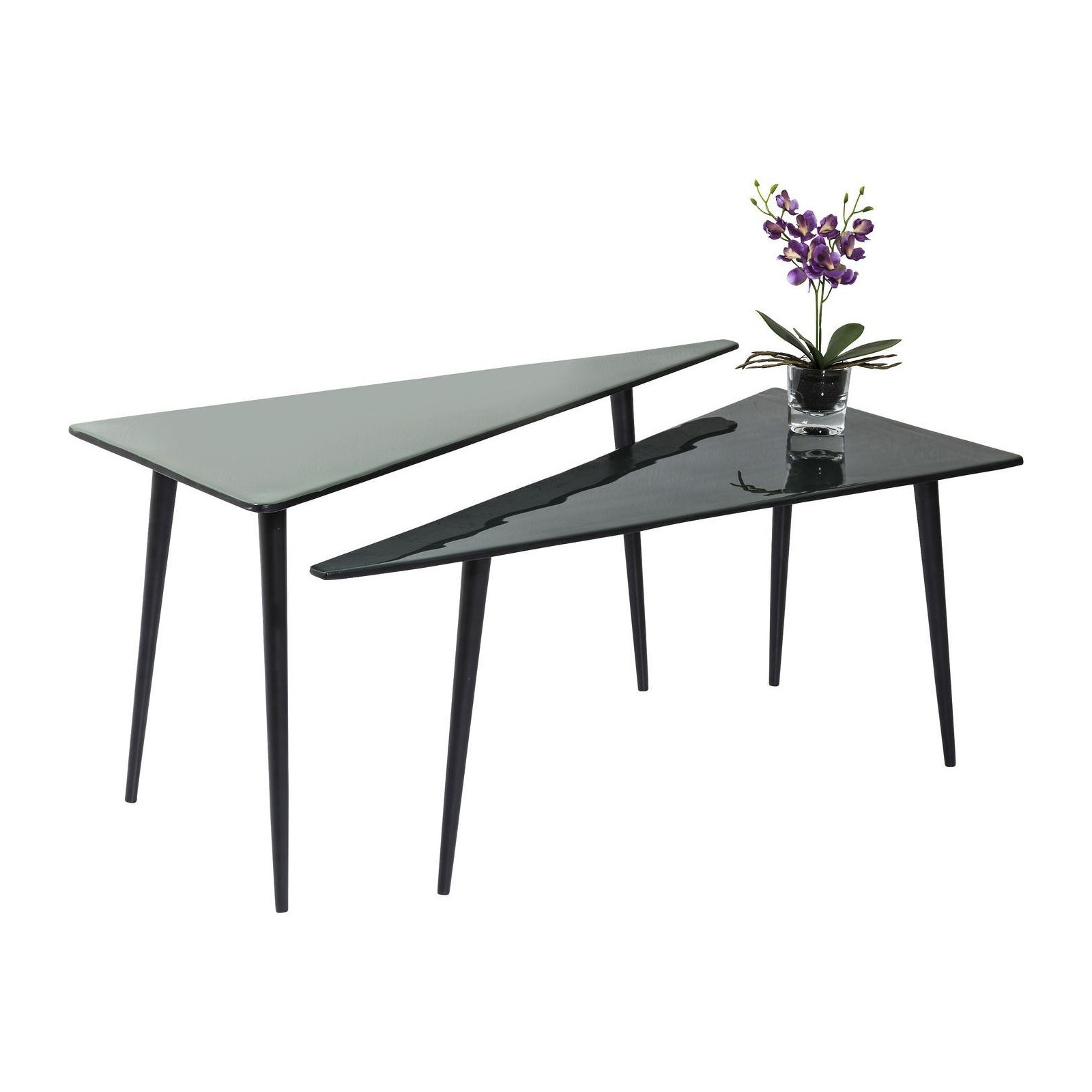 einzigartig table basse triangulaire id es de conception. Black Bedroom Furniture Sets. Home Design Ideas