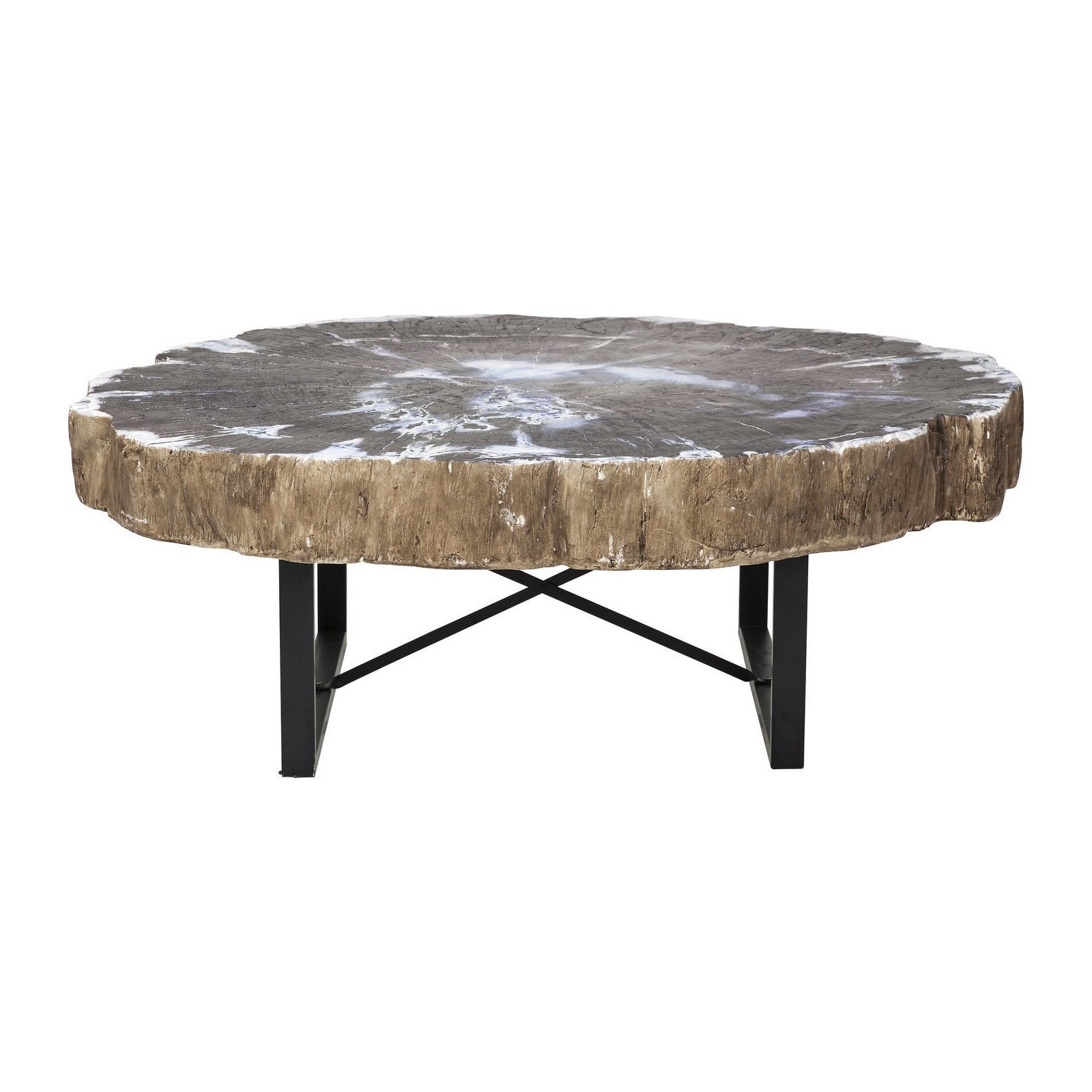 Table basse design ronde tronco meubles d co kare - Table kare design ...