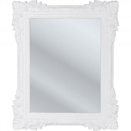 Miroir Fiore blanc 89x109cm Kare Design