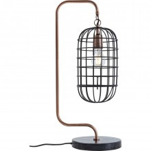 Lampe de table Golden Cage Roll Kare Design