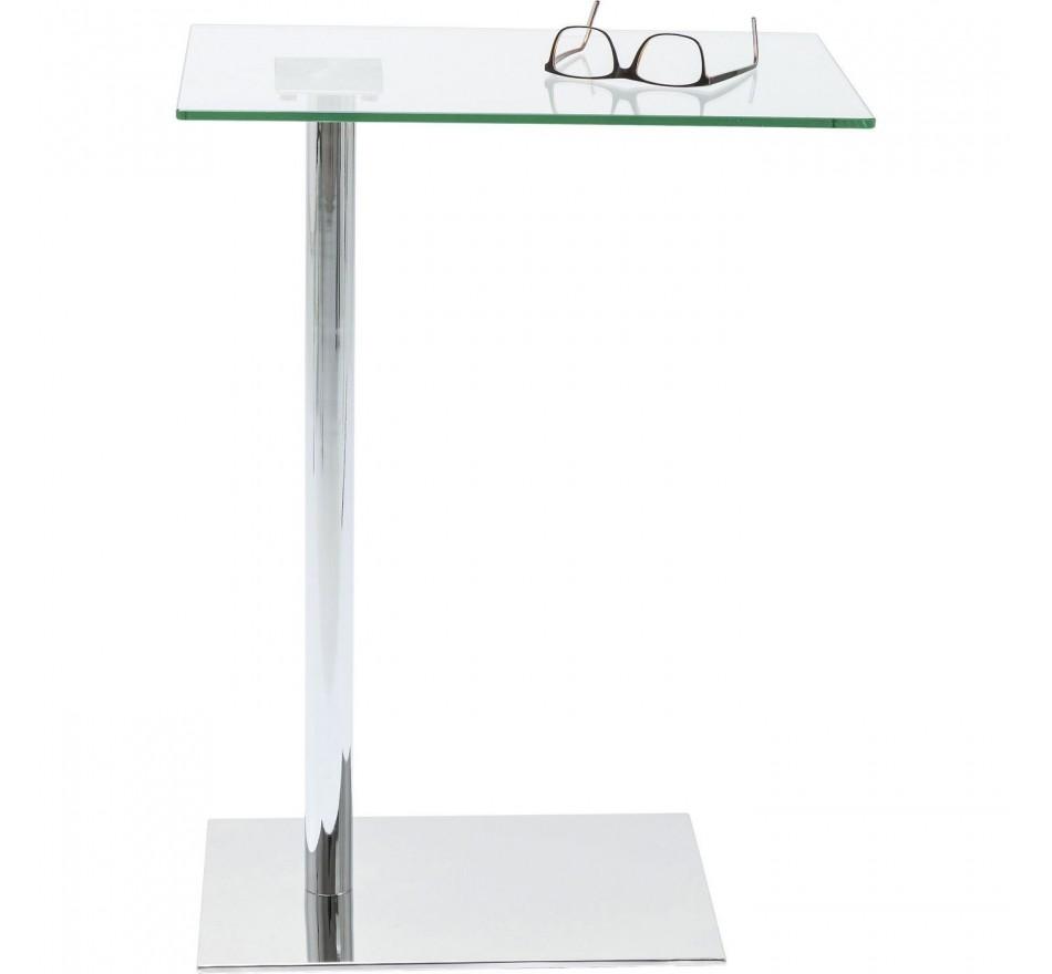 Table d'appoint West Coast chrome Kare Design