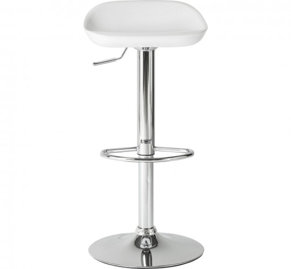 Tabouret de bar Bucket blanc Kare Design