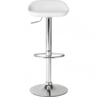 Tabouret de bar Bucket blanc Kare Design