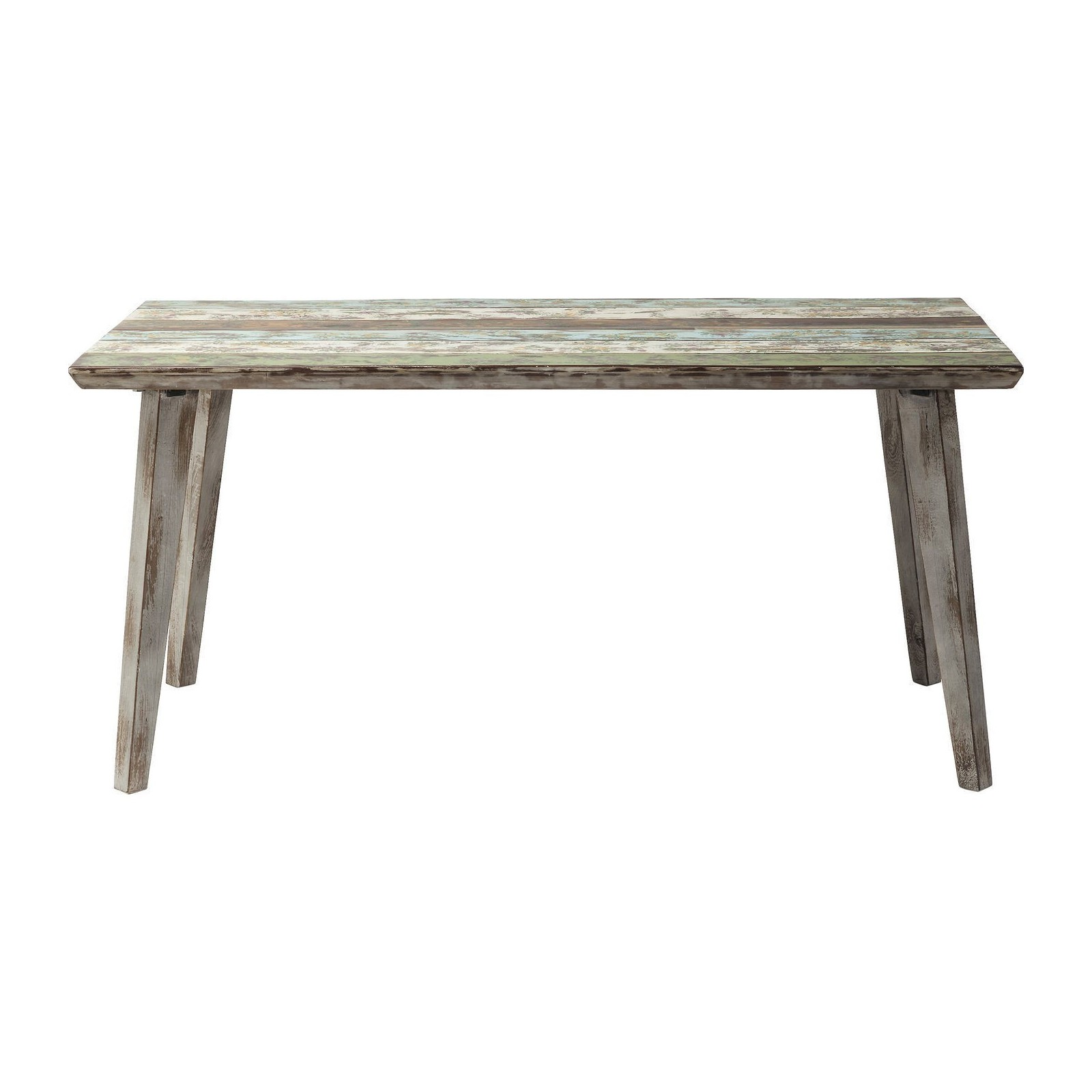 Table design en bois recycl santorini meubles kare - Table kare design ...