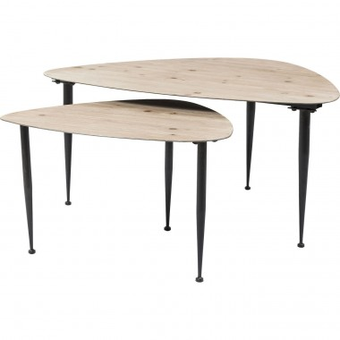 Tables basses Melange set de 2 Kare Design