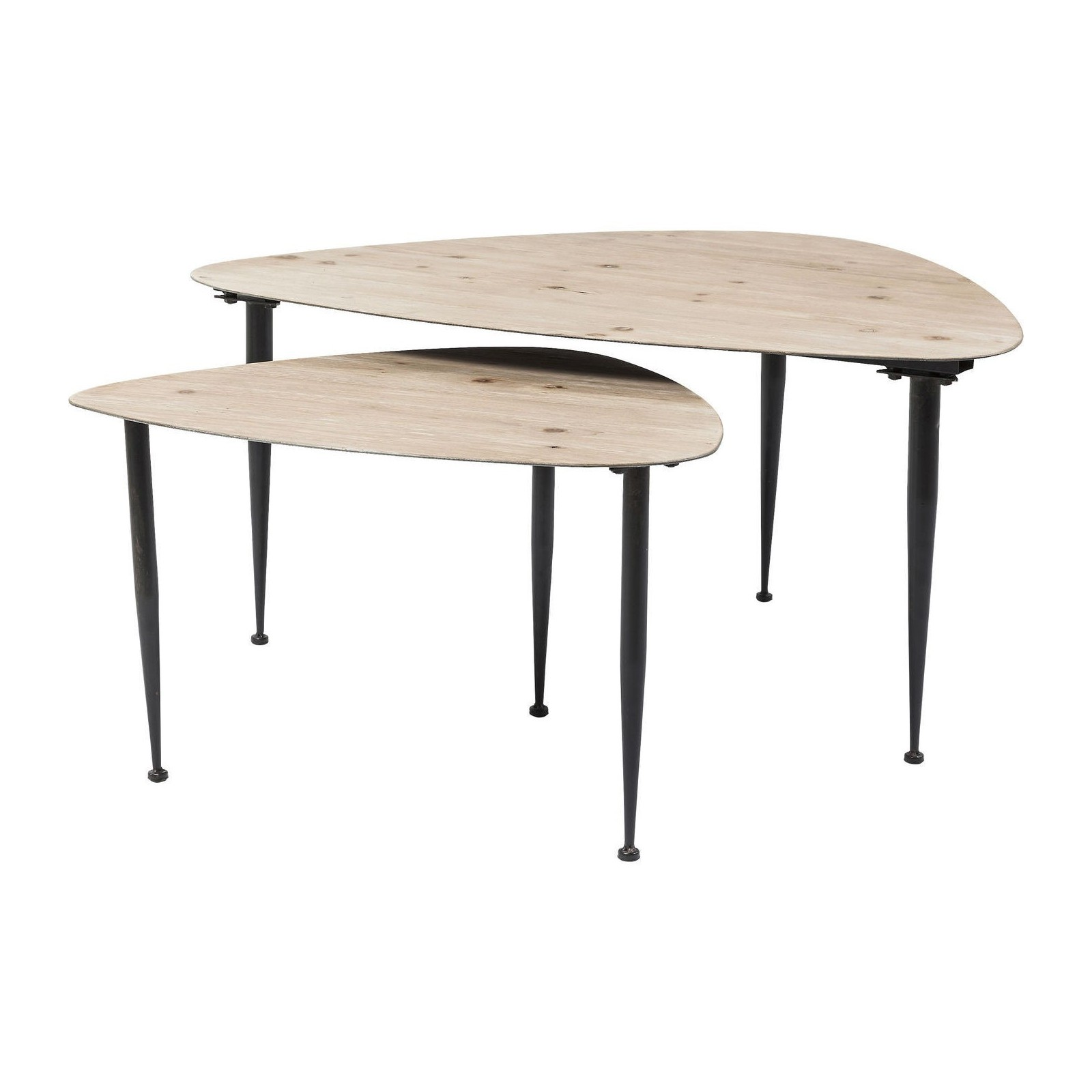 table basse contemporaine melange kare design. Black Bedroom Furniture Sets. Home Design Ideas